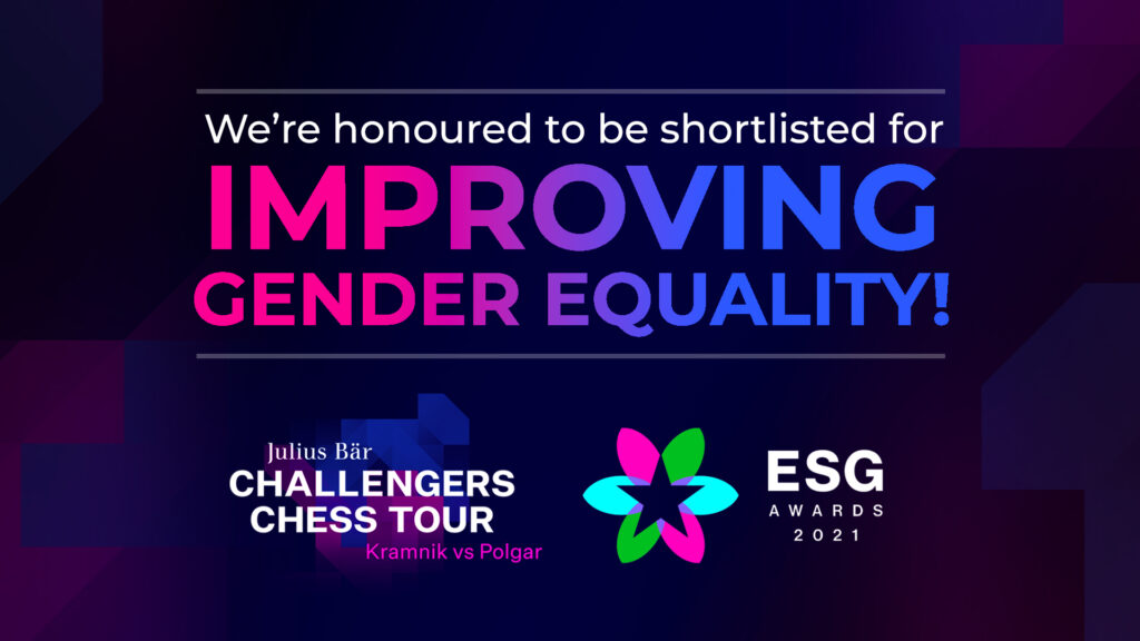 Play Magnus Group has been shortlisted for a ESG Award